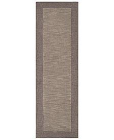 """Surya Mystique M-312 Taupe 2'6"""" x 8' Area Rug"""