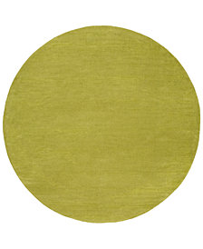 Surya Mystique M-337 Lime 6' Round Area Rug