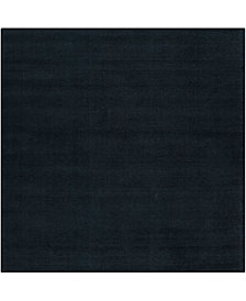 Surya Mystique M-340 Charcoal 8' Square Area Rug