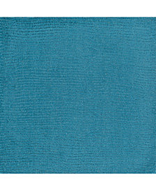 "Surya Mystique M-342 Bright Blue 18"" Square Swatch"