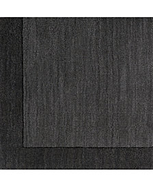 "Surya Mystique M-347 Charcoal 18"" Square Swatch"