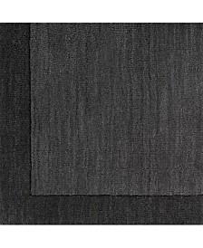 "Surya Mystique M-347 Charcoal 18"" Square Swatch"