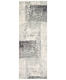 "Surya Harput HAP-1059 Light Gray 2'7"" x 7'3"" Area Rug"