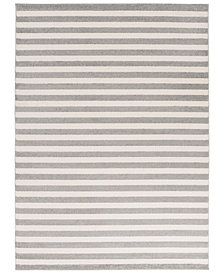 "Surya Horizon HRZ-1004 Medium Gray 3'3"" x 5' Area Rug"