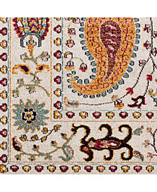 "Surya Anika ANI-1010 White 18"" Square Swatch"