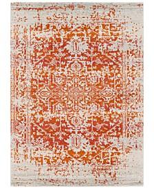 "Harput HAP-1019 Burnt Orange 3'11"" x 5'7"" Area Rug"