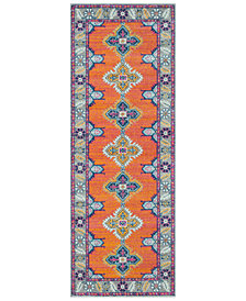 "Surya Harput HAP-1035 Burnt Orange 2'7"" x 7'3"" Area Rug"