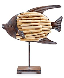 CLOSEOUT! Coastal Driftwood Fish, Created for Macy's