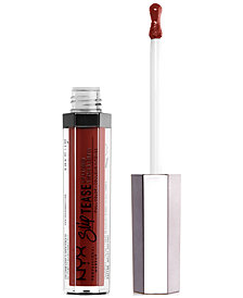 NYX Professional Makeup Slip Tease Full Color Lip Lacquer, 0.1 fl. oz.