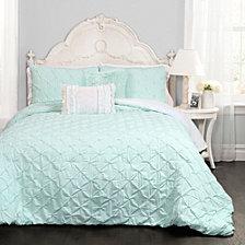 Ravello Pintuck 4-Piece Twin Comforter Set
