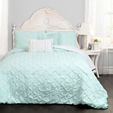 Ravello Pintuck 4-Piece Twin Comforter Set