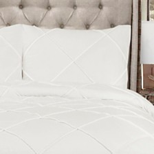 Diamond Pom Pom 3-Piece Full/Queen Comforter Set