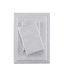 True North Cotton Flannel 4-Piece Queen Sheet Set