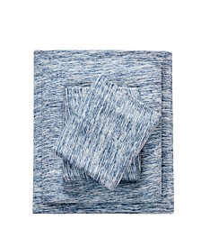 Urban Habitat Space Dyed Twin XL Cotton Jersey Knit Sheet Set