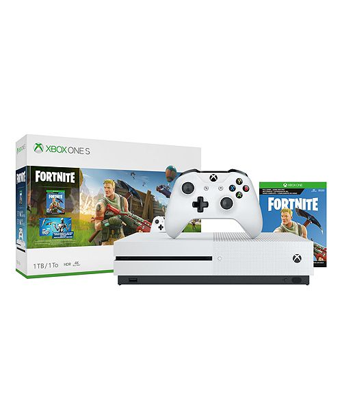 Xbox One S 1tb Fortnite Bundle Home Macy S