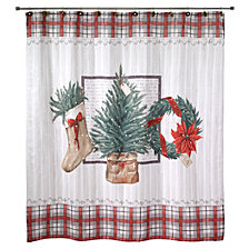 CLOSEOUT! Avanti Farmhouse Holiday Shower Curtain