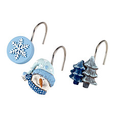 Avanti Let It Snow Shower Hooks