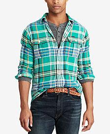 Polo Ralph Lauren Men's Great Outdoors Classic Fit Twill Shirt