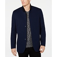 Deals on Alfani Men's Rib-Knit Sport Coat