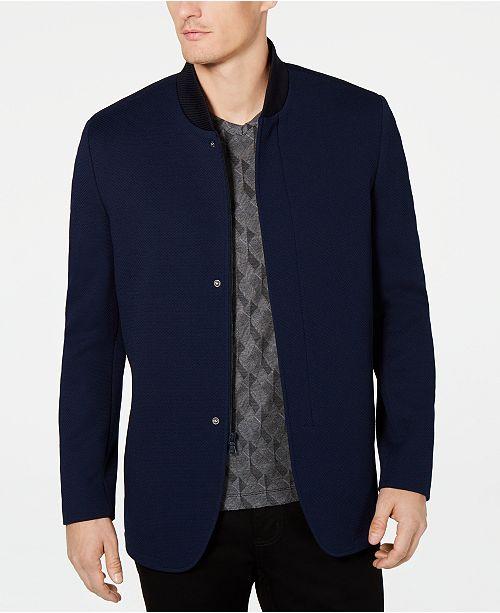 Men's Rib-Knit Sport Coat, Created for Macy's