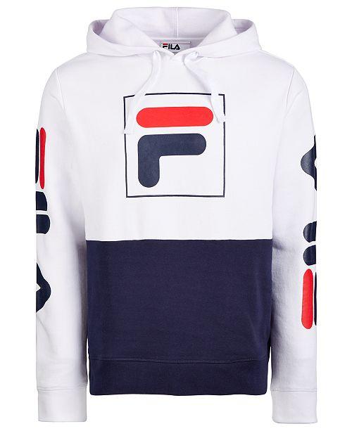 Fila Men's Marzio Colorblocked Fleece Hoodie