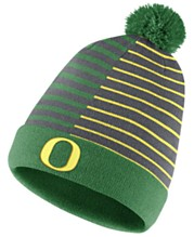 9f1ffb391 Nike Oregon Ducks Striped Beanie Knit Hat