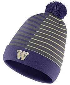 Nike Washington Huskies Striped Beanie Knit Hat
