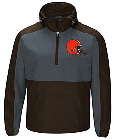 G-III Sports Men's Cleveland Browns Leadoff Lightweight Jacket