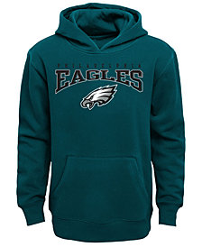Outerstuff Philadelphia Eagles Fleece Hoodie, Big Boys (8-20)