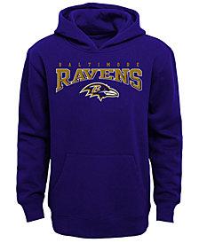 Outerstuff Baltimore Ravens Fleece Hoodie, Big Boys (8-20)