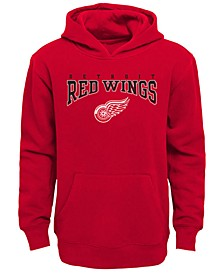 Detroit Red Wings Fleece Hoodie, Big Boys (8-20)