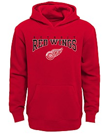 Outerstuff Detroit Red Wings Fleece Hoodie, Big Boys (8-20)