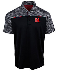 Antigua Men's Nebraska Cornhuskers Final Play Polo