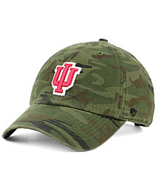 '47 Brand Indiana Hoosiers Regiment CLEAN UP Strapback Cap