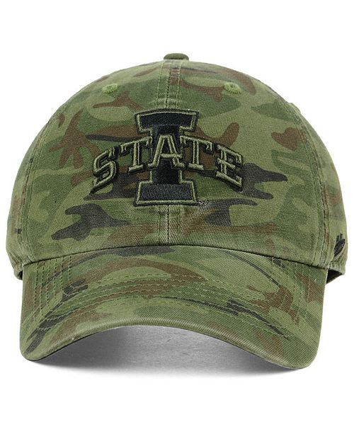 official photos a84ca 3d472 ... australia 47 brand iowa state cyclones regiment clean up strapback cap  sports fan shop by lids