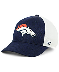 '47 Brand Denver Broncos Hazy Flex CONTENDER Stretch Fitted Cap