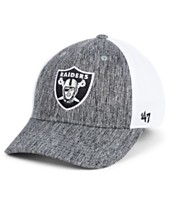 d9e25e2f09d  47 Brand Oakland Raiders Hazy Flex CONTENDER Stretch Fitted Cap