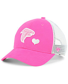 '47 Brand Girls' Atlanta Falcons Sugar Sweet Mesh Adjustable Cap