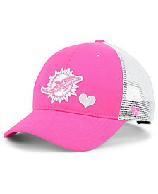 '47 Brand Girls' Miami Dolphins Sugar Sweet Mesh Adjustable Cap