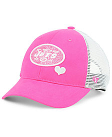 '47 Brand Girls' New York Jets Sugar Sweet Mesh Adjustable Cap