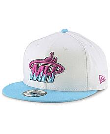 New Era Miami Heat Light City Combo 9FIFTY Snapback Cap