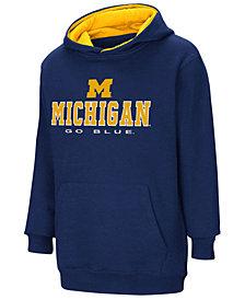 Colosseum Michigan Wolverines Pullover Hooded Sweatshirt, Big Boys (8-20)