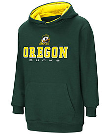 Colosseum Oregon Ducks Pullover Hooded Sweatshirt, Big Boys (8-20)
