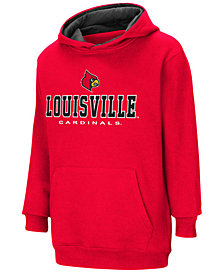 Colosseum Louisville Cardinals Pullover Hooded Sweatshirt, Big Boys (8-20)