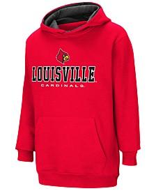 Colosseum Louisville Cardinals Pullover Hooded Sweatshirt, Big Boys (8-20)