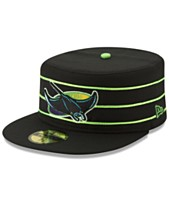 save off bd77e cb084 New Era Tampa Bay Rays Pillbox 59FIFTY-FITTED Cap