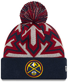 New Era Denver Nuggets Glowflake Cuff Knit Hat