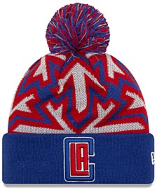 Los Angeles Clippers Glowflake Cuff Knit Hat