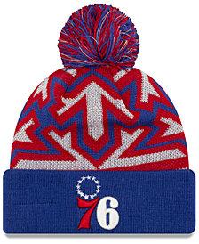 New Era Philadelphia 76ers Glowflake Cuff Knit Hat