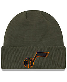 New Era Utah Jazz Tip Pop Cuffed Knit Hat